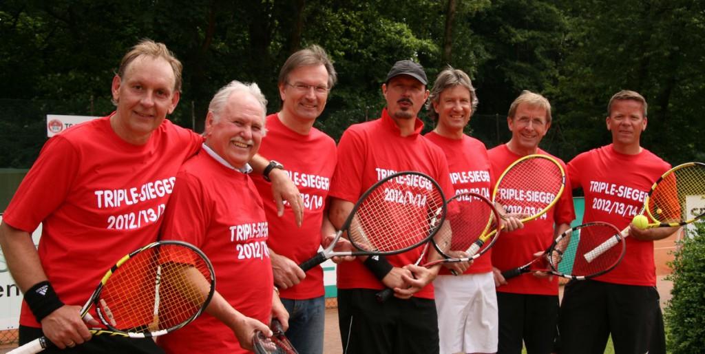 Auf dem Foto fehlt leider Clemens van Dorsten