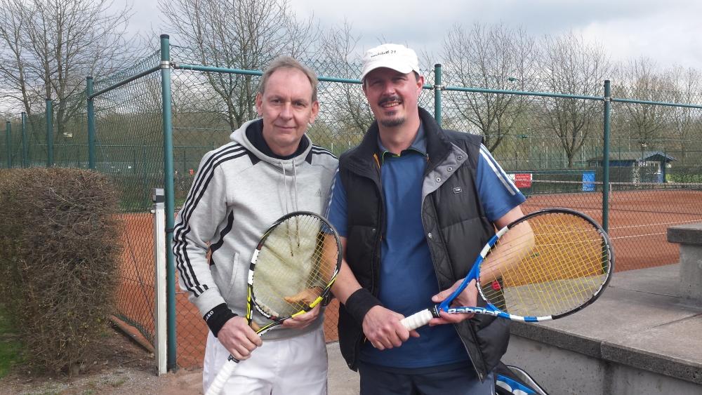 Unser Team: Thomas Westermann und Markus Giesen
