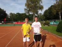 Nils Wathenpuhl und Robin Boerger
