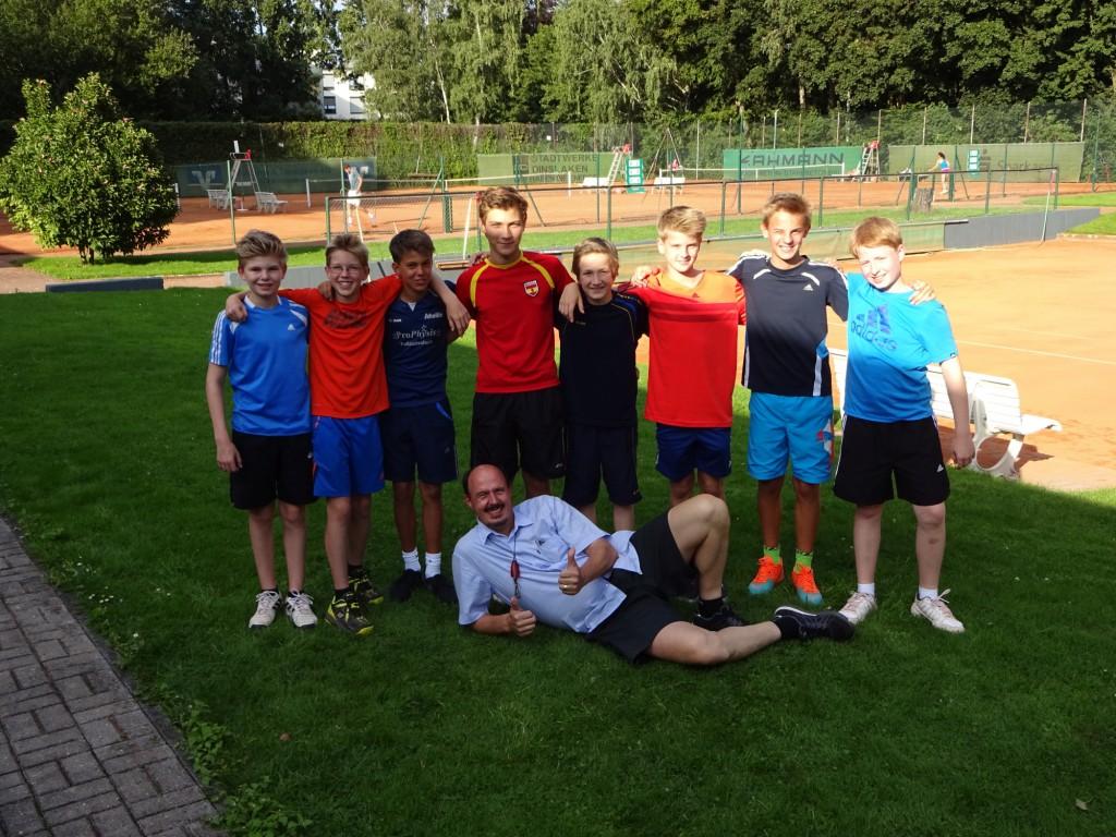 1. und 2. Junioren U14