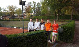 1. Jungen U18: Nils Watenphul, Robin Börger, Lars Watenphul, Sebastian Reiche, Finn de Lede