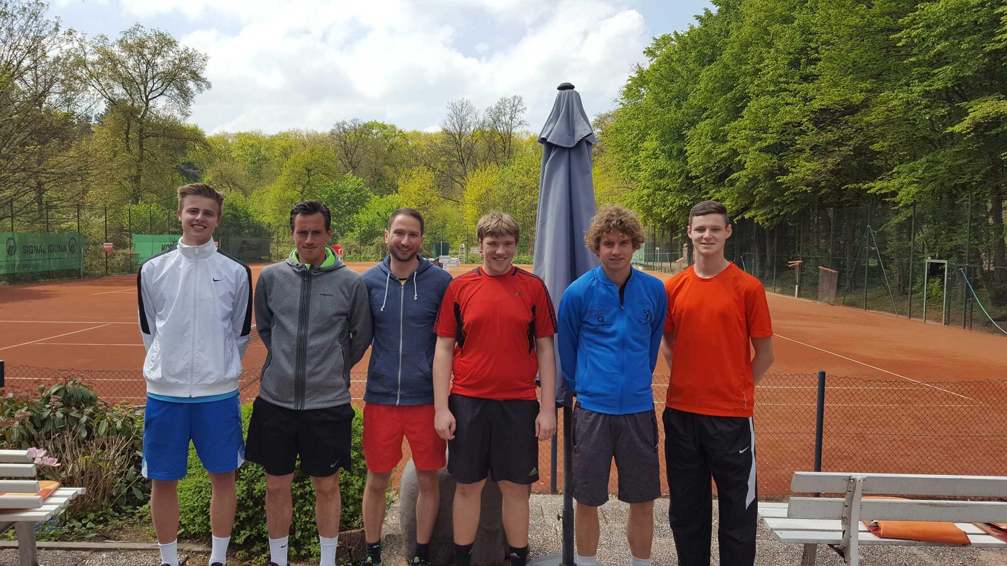 Foto-Mannschaft <br>1.Herren – 2017