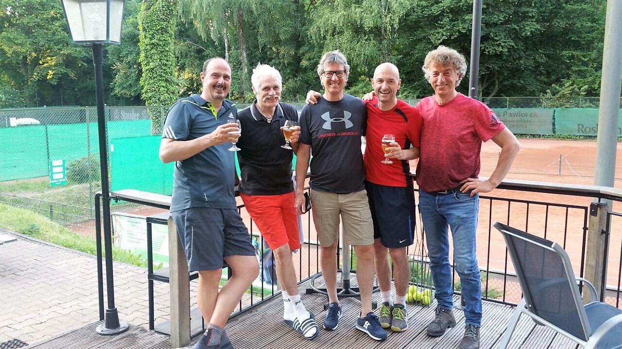 Foto-Mannschaft <br>1.Herren 50 – 2017