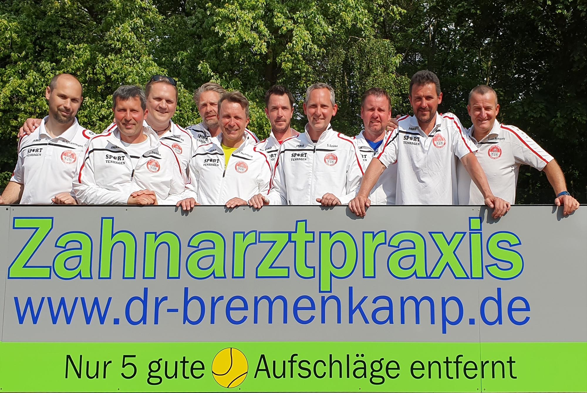Foto-Mannschaft <br>1.Herren40 – 2019-05-18